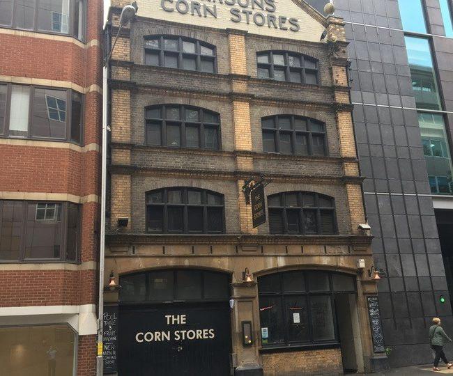 Cornstores building