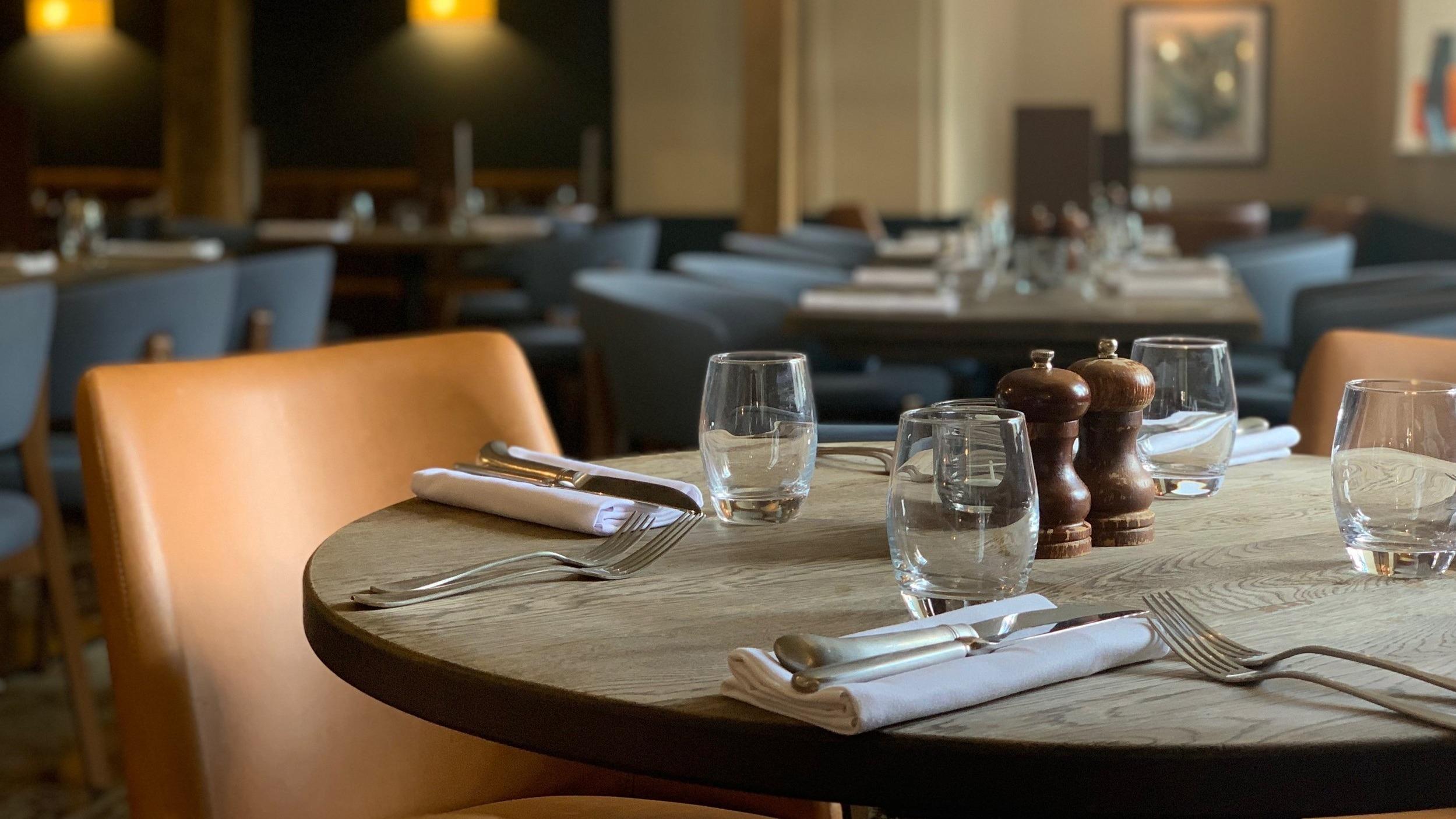 Table at The Shurlock Inn