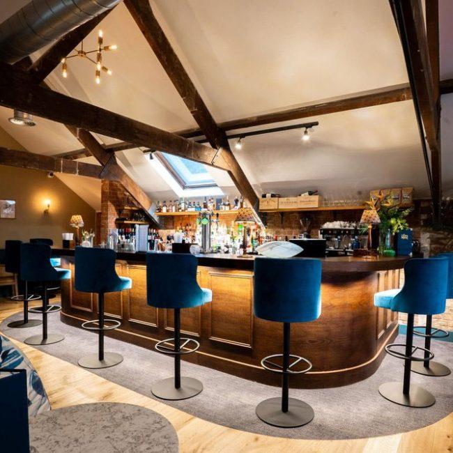 Private dining bar in Rarebreed Dining establishment