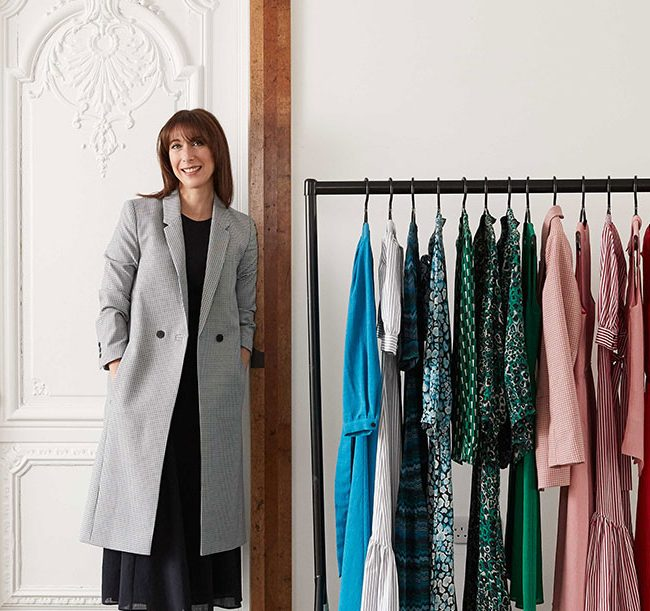 Samantha Cameron with Cefinn clothing