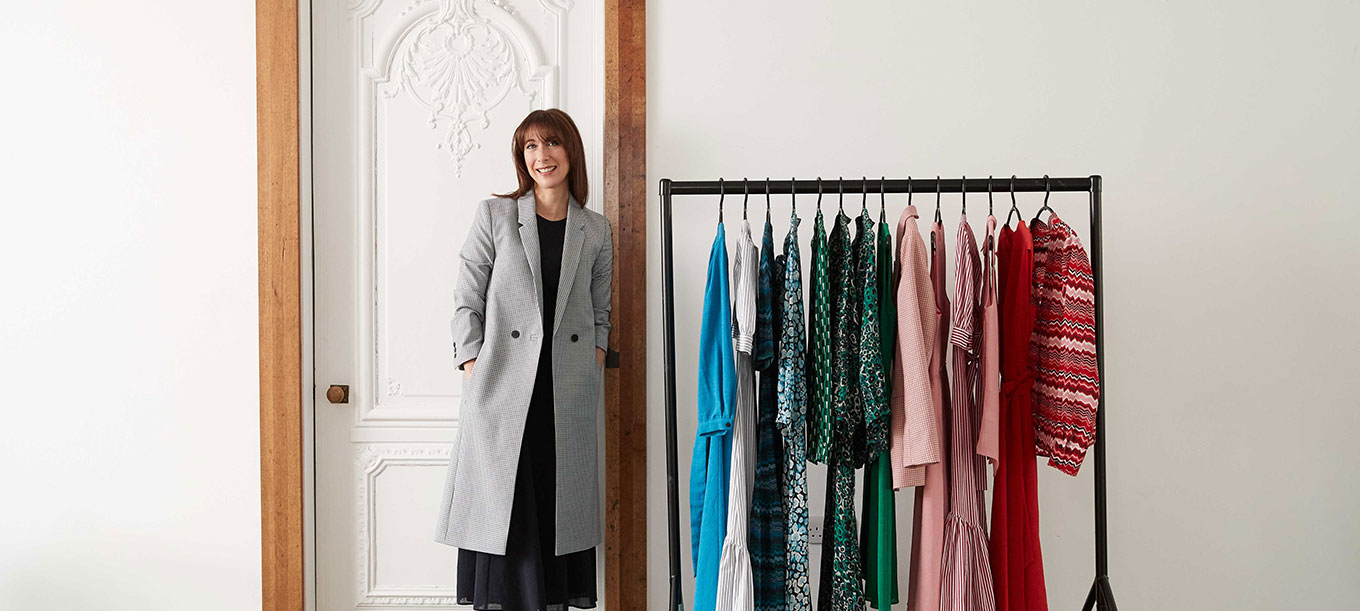Samantha Cameron with Cefinn clothing